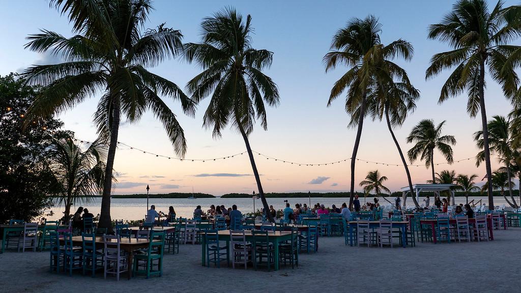 Sunset at Morada Bay in Islamorada - Florida Keys road trip
