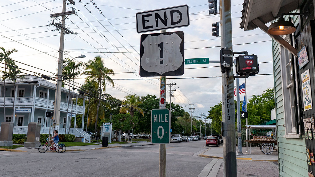 Driving to Key West: Mile Marker 0