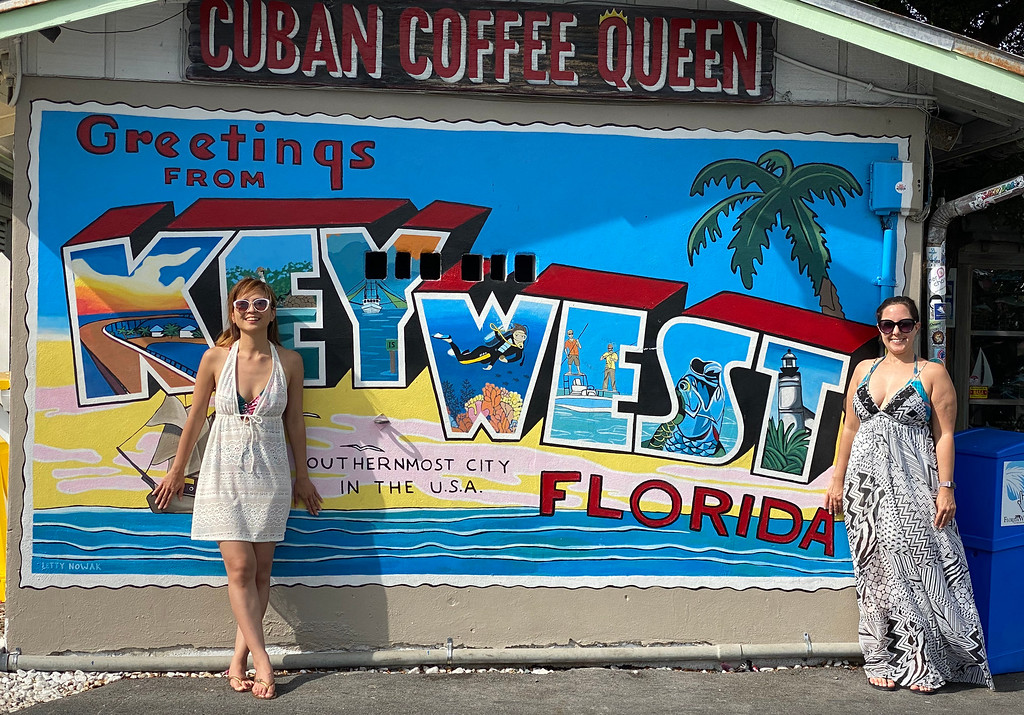 Street art in Key West Florida - Road Trip to Key West