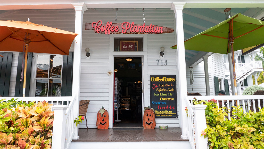 Coffee Plantation Realty Cafe in Key West Florida