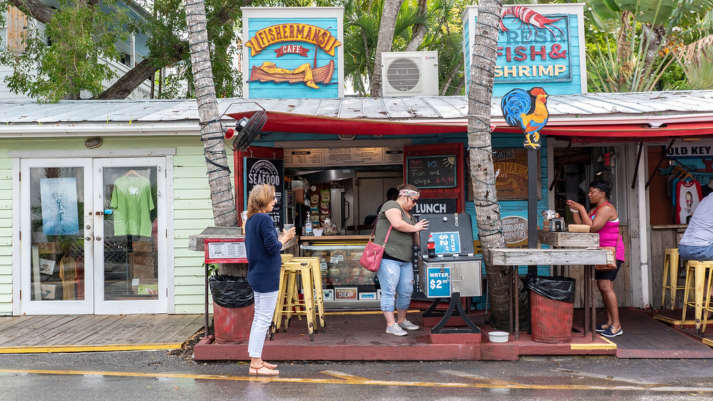 Fisherman's Cafe Key West - Florida Keys road trip itinerary