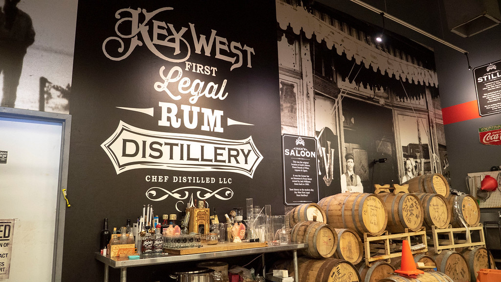 Key West First Legal Rum Distillery - Florida Keys road trip itinerary