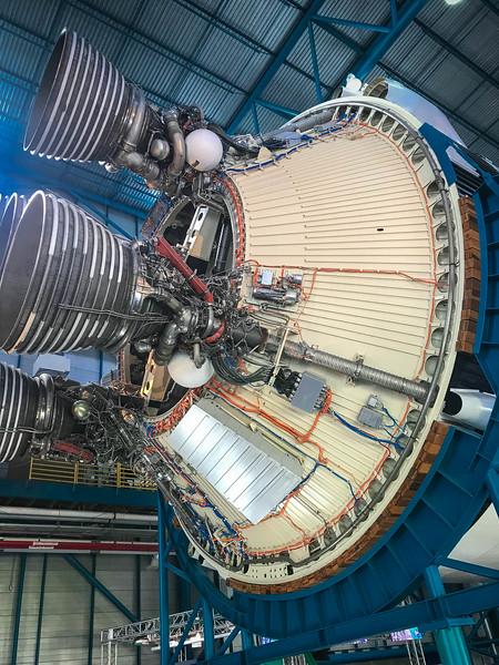 saturn rocket kennedy space center