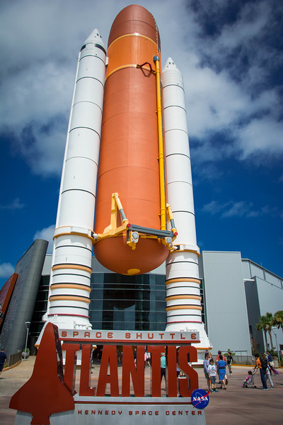 space shuttle atlantis orlando