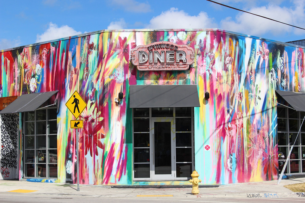 Wynwood Walls Miami: Outside the Walls Diner