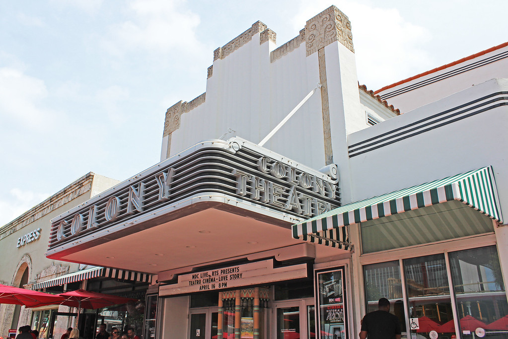 Movie theater on Lincoln Road