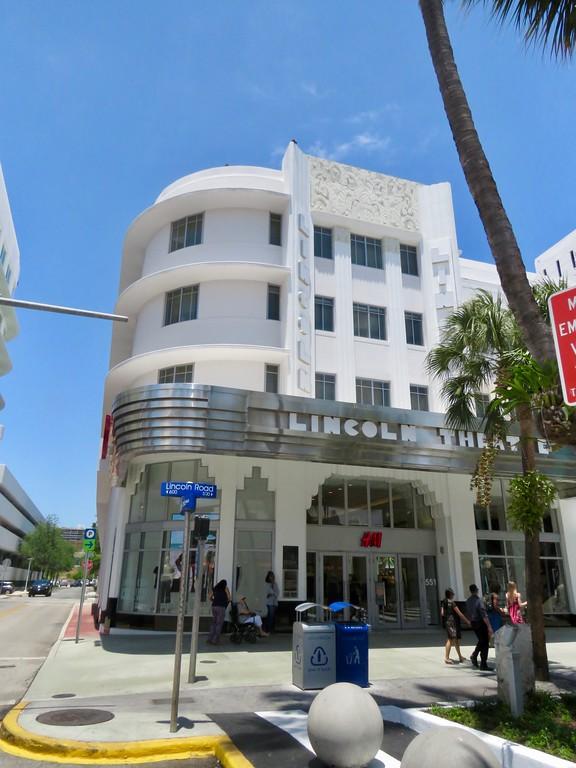 Lincoln THeatre - Art Deco - South Beach Miami