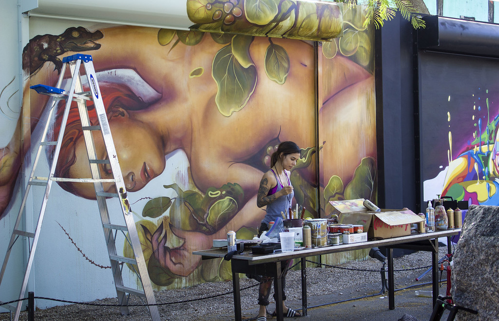Wynwood Walls Miami: Street art being created before our eyes