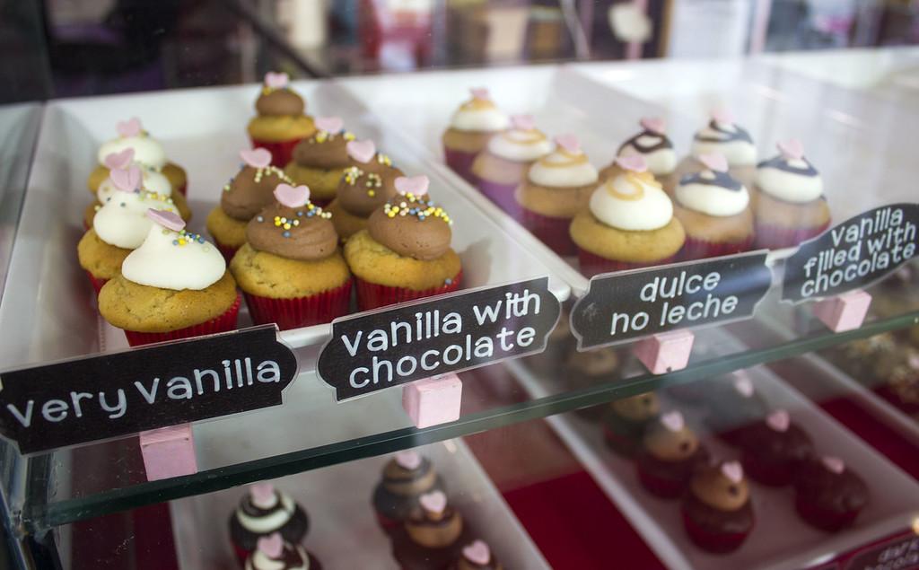 Bunnie Cakes vegan cupcakes