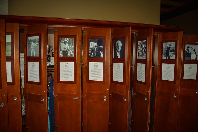 member locker room