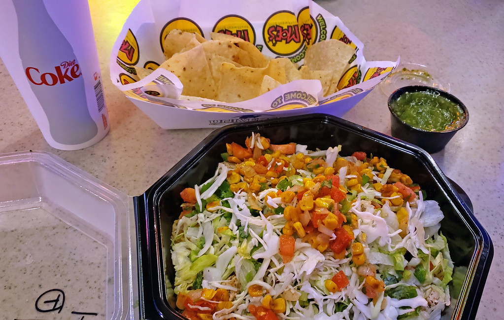 Dining Vegan at Universal Orlando: Moe's Southwest Grill