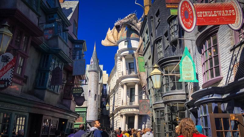 diagon alley universal orlando resort