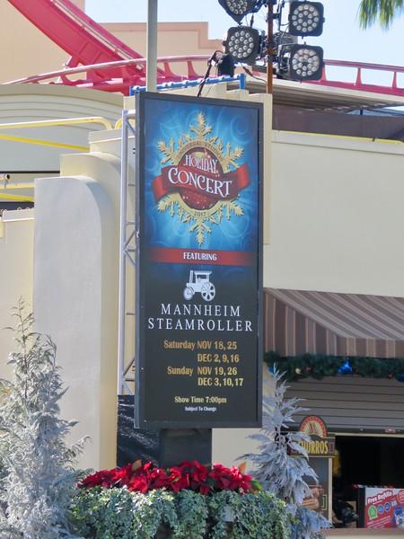 Mannheim Steamroller at Universal Studios Orlando