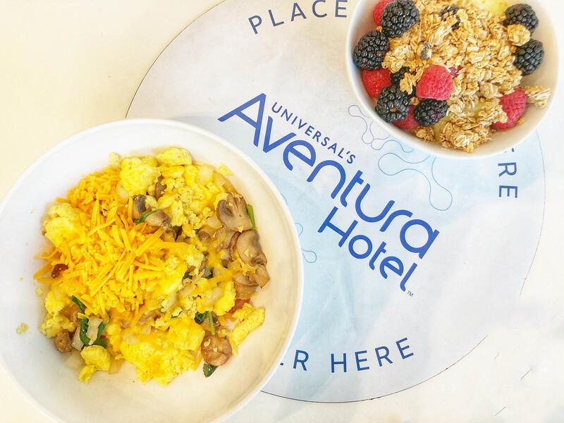 universal's aventura hotel breakfast