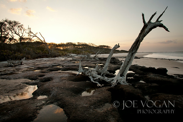 Dusk, Black Rocks Area, Big Talbot Island