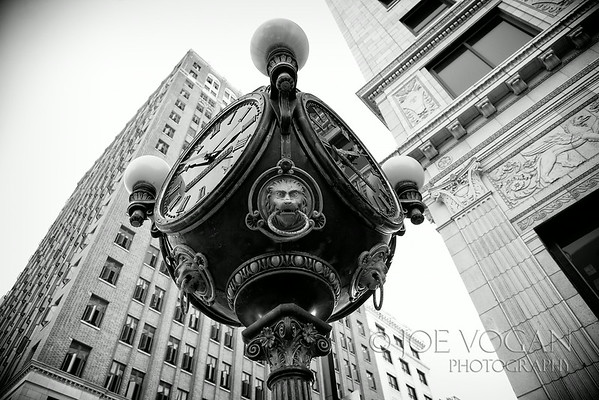 Historic Clock, downtown Jacksonville