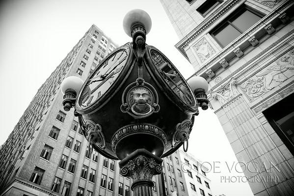 Clock, downtown Jacksonville