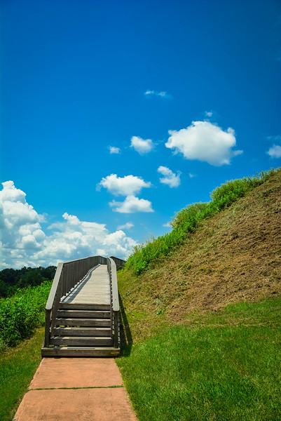 great temple mound walkway
