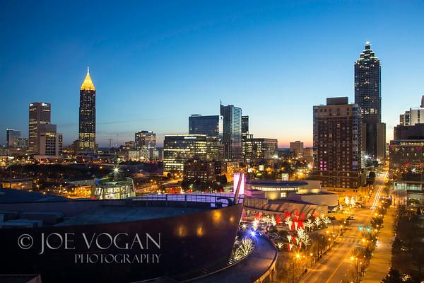 Atlanta Skyline at Dawn, Atlanta, Georgia
