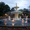 Forsyth Fountain, Forsyth Park, Historic District, Savannah, Georgia