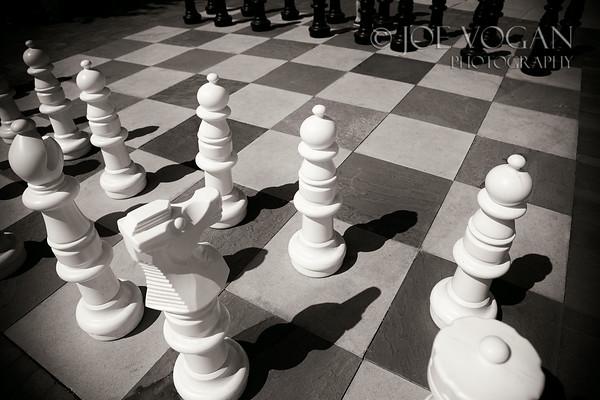 Sidewalk Chess Game, Savannah, Georgia