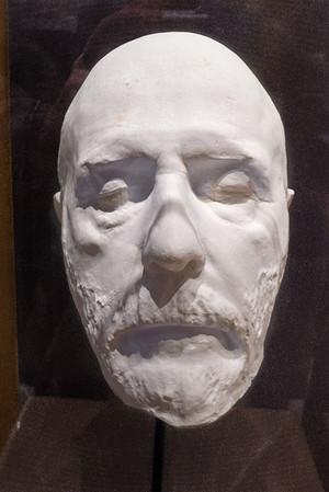 Appomattox, VA Museum of the Confederacy - General Robert E. Lee's death mask.