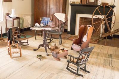 Appomattox, VA Surrender House - McLean living room.