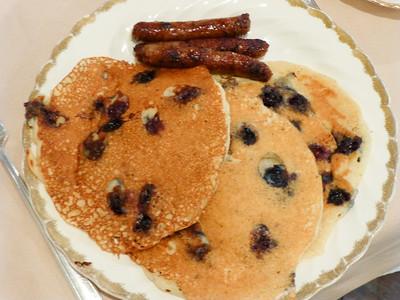 Appomattox, VA Babcock House B&B - Breakfast the next day.
