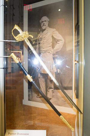 Appomattox, VA Museum of the Confederacy - General Robert E. Lee's sword.