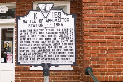 Appomattox, VA Appomattox Railroad Station