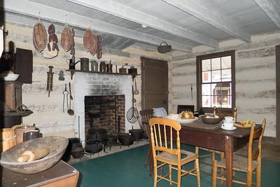 Appomattox, VA McLean kitchen in a outside building.