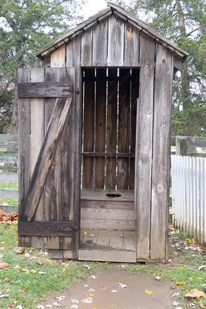 Appomattox, VA - McLean house's outdoor privy.