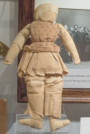 Appomattox, VA Doll of McLean child taken during the Appomattox signing and returned about 100 years later.