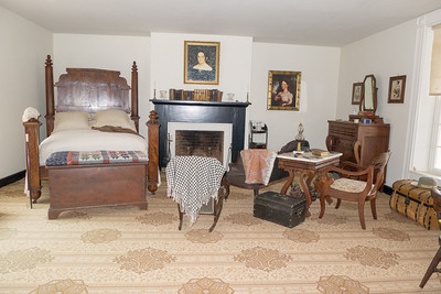 Appomattox, VA Surrender House - One of the McLean home's bedrooms.