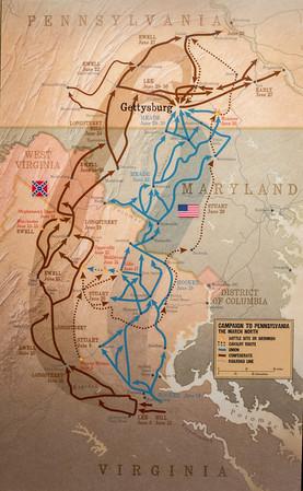 Gettysburg, PA Confederate Campaign to Pennsylvania.....Battle at Gettysburg