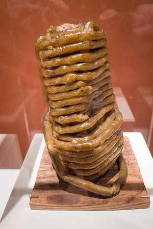 Appomattox, VA Museum of the Confederacy - Corn cob wrapped in paraffin wick