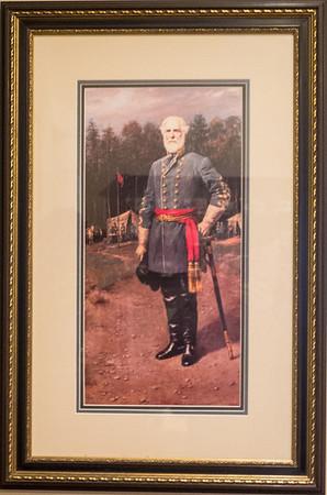 Appomattox, VA Museum of the Confederacy - Portrait of General Robert E. Lee.