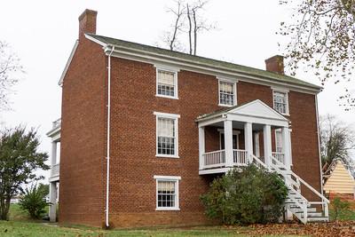 Appomattox, VA Rear view of the Surrender House