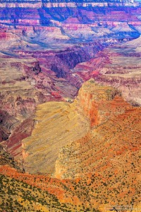 Los colores del gran cañon del colorado / The colors of the great canyon of colorado