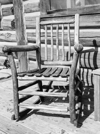 Jackson Lake Lodge rocking chair