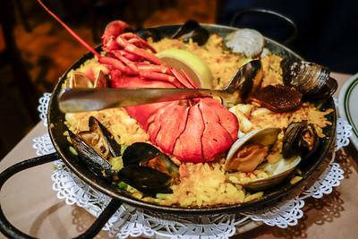 Paella at Malaga Restaurant