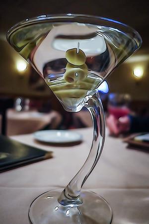 Martini at Malaga Restaurant