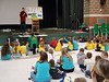 2020-02-12 Titus at an elementary school