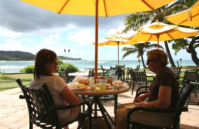 1554 - Lunch at Turtle Bay Resort - OAHU