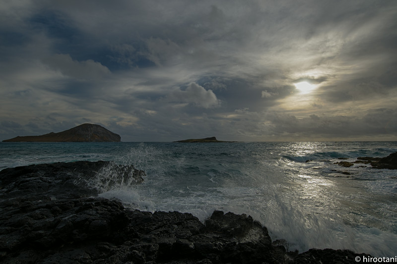 Sunrise at Makapuu Beach