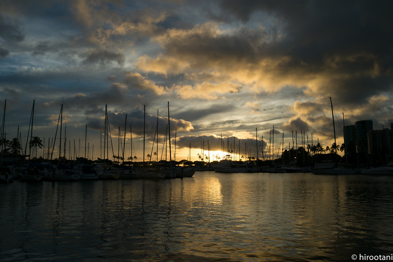 Ala Wai Yach Harbor