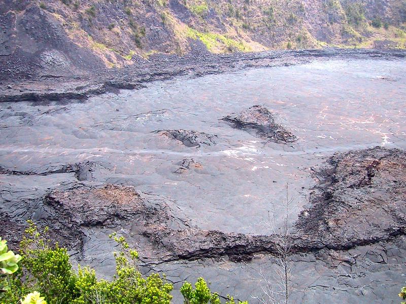 Kīlauea Iki Crater from the Puʻu Puaʻi Overlook