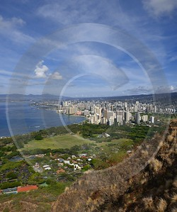 Diamond Head State Park Oahu Hawaii Hololulu Crater Landscape Photography View Point Snow Winter - 009690 - 19-10-2011 - 4985x5970 Pixel