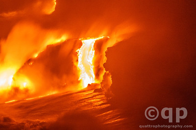LAVA ENTERS OCEAN 2