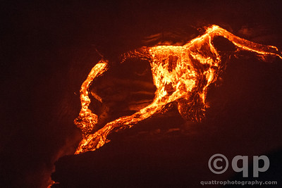 LAVA ENTERS OCEAN 4